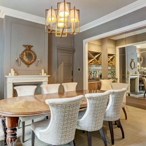 Classic Interior Design - Dining Room