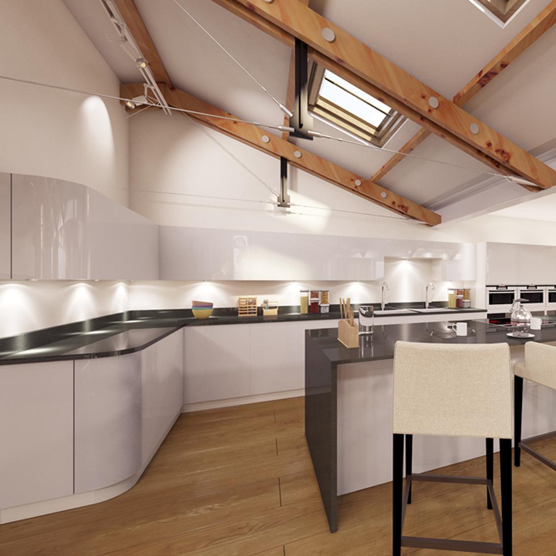 Contemporary Kitchen - Interior Design