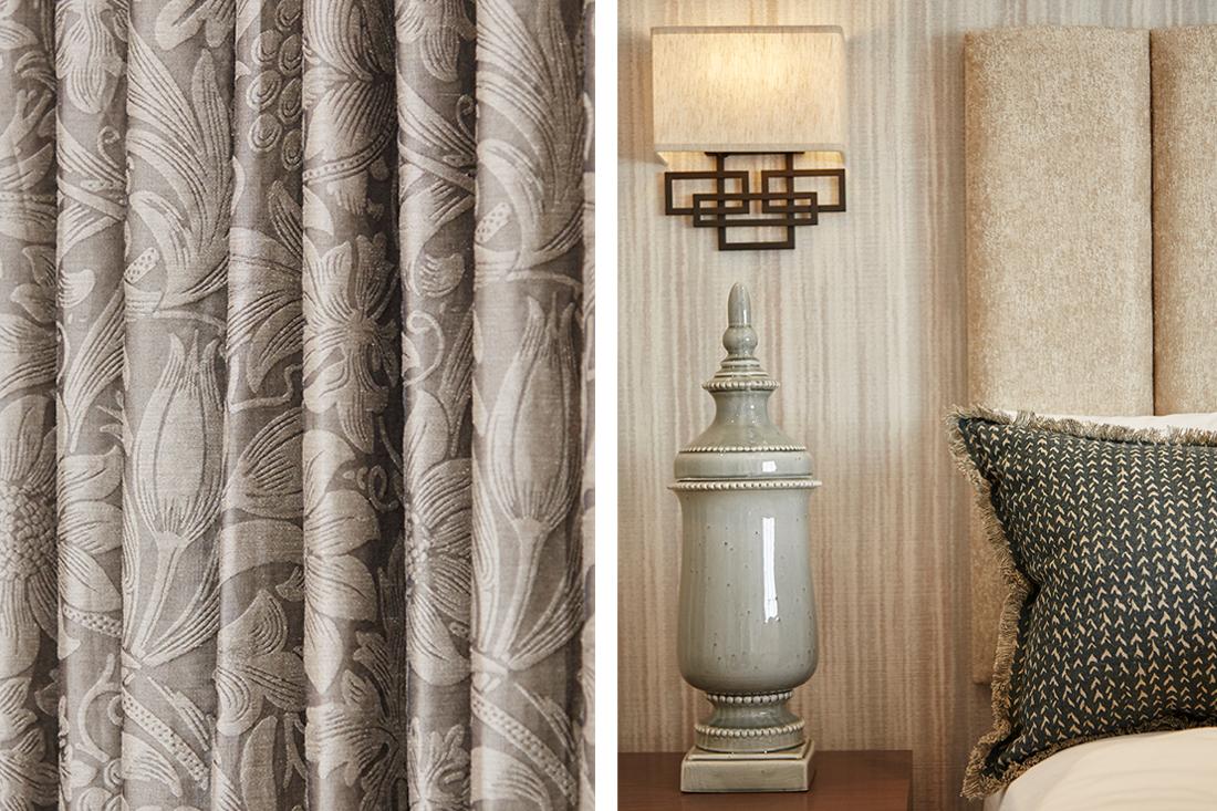 Designer Interiors - Texture and Textile