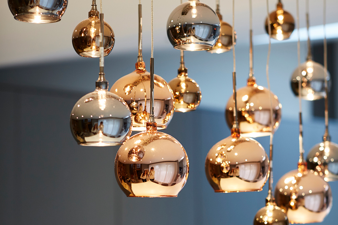 Example of designer lighting